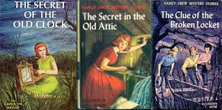 nancy drew three books