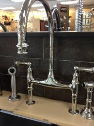 high end rohl bridge kitchen faucet u2014 railing stairs and kitchen