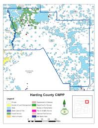 New Mexico County Map Emnrd Forestry Division