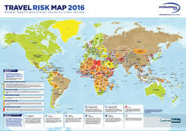 Egypt On A World Map by Risk Outlook