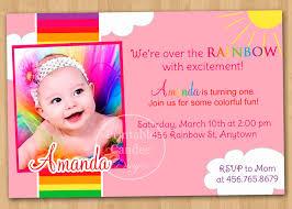 1st Year Baby Birthday Invitation Cards 1st Year Birthday Invitation Cards Sample Infoinvitation Co