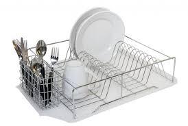 Plastic Dish Drying Rack Furniture Home Foldable Two Layer Dish Rack Dish Drying Modern