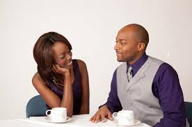 Body language tips that you can try on your crush   Ghana News black couple on a date pf