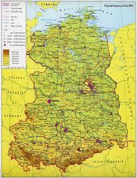 Detailed Map Of Germany by East Germany Map U2013 World Map Weltkarte Peta Dunia Mapa Del