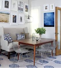 settees dining tables dp jennifer dyer gray contemporary breakfast
