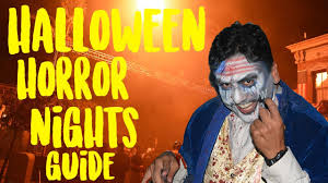 costumes halloween horror nights how to survive halloween horror nights 2017 hhn prep youtube
