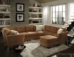 Furniture For Small Living Room by Room Living Room Designs With Sectionals With Brown Color Living