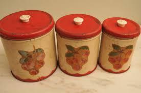 Vintage Kitchen Canister Set 100 Kitchen Canister Sets Red Ideas Interesting Kitchen