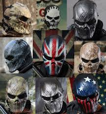ghost half mask m06 airsoft paintball cosplay full face protection skull mask