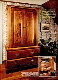 craftsmans wardrobe plans u2022 woodarchivist