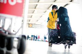 ski and snowboard baggage fees on airlines worldwide first