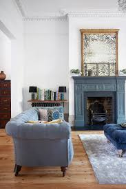 White Furniture For Living Room Modern Country Blue Colors White Paints And Living Rooms