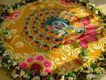 Pongal Festival Color Kolam/kolangal -Indian and bharatmother's blog