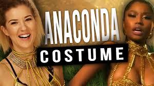 style halloween costumes easy diy nicki minaj anaconda halloween costume youtube