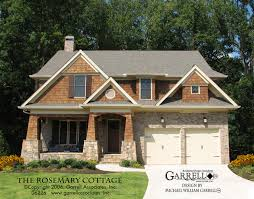 rosemary cottage house plan house plans by garrell associates inc