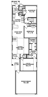 One Story Colonial House Plans Best 25 Narrow Lot House Plans Ideas On Pinterest Narrow House