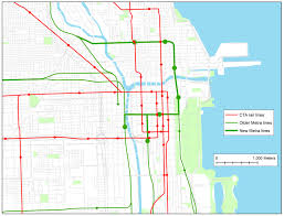 Chicago Line Map by Fantasy Transit In Chicago A Proposal Liberal Landscape