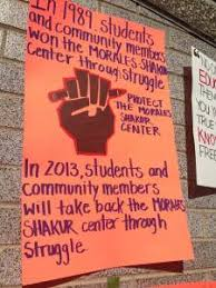 Fight to reclaim the Morales-Shakur Center at City College!