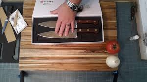 Kitchen Knives Wusthof Wusthof 200th Anniversary Knife Set Review Youtube