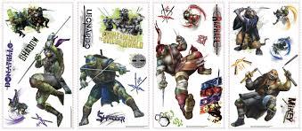 rmk scs teenage mutant ninja turtles movie wall stickers teenage mutant ninja turtles movie wall stickers