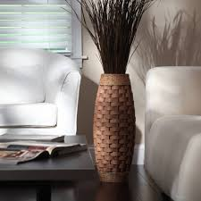 elegant expressions by hosley large burlap vase walmart com