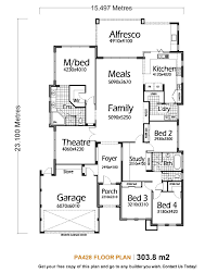 Single Story Houses 100 One Story House Floor Plan Open Floor Plans For Single