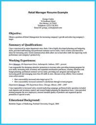 Sample Resume For Retail Manager by Retail Cv Template Sales Environment Sales Assistant Cv Shop