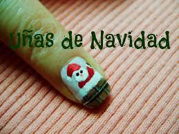 uñas de navidad christmas nail art diseño de uñas navideñas