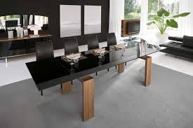 Large Dining Room Tables by Coaster Modern Dining Contemporary Dining Room Set With Glass