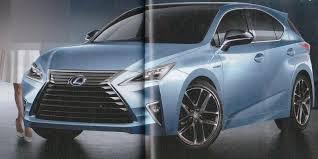lexus ct 200h f sport edition 2017 lexus ct 200h rendered to debut in january 2017 autoevolution