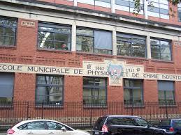 École supérieure de physique et de chimie industrielles de la ville de Paris