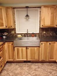 Furniture Style Kitchen Cabinets Decorating Natural Wood Cabinets By Lowes Kitchens For Kitchen