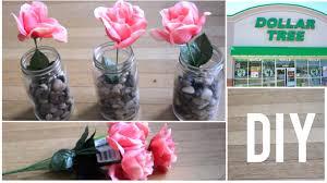 diy dollar tree craft mason jar flowers 7 home decor thataylaa