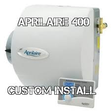 aprilaire model 400 humidifier installation hvac youtube