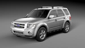 Ford Escape Sport - ford escape 2012 by korneelov 3docean