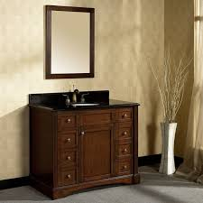 Bathroom Vanity 42 by Valore Princeton 42 In Single Vanity With Mirror
