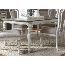 liberty furniture magnolia manor dining rectangular leg table with