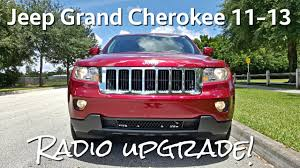 jeep grand cherokee 11 13 installation u0026 review radio updrade