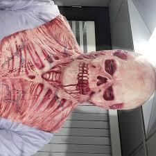 aliexpress com buy new halloween blood skull mask latex scary