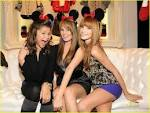 Bella Thorne,Zendaya Coleman,And Debby Ryan At The Minnie Mouse