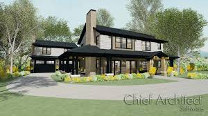 Green Building House Plans by Chief Architect Home Design Software Samples Gallery
