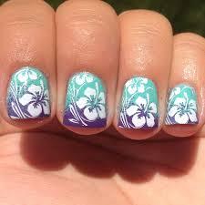 tropical nail art top 15 summer nail art ideas 15 nail art
