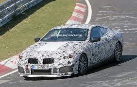 new bmw m8 super coupe spotted flexing 600hp at the u0027ring