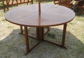Teak Dining Room Set Round Teak Dining Table And Chairs U2014 Harte Design Outdoor Teak