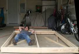 King Size Platform Bed Designs by Build A King Sized Platform Bed Diywithrick