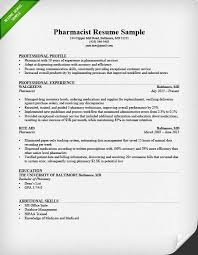Resumes For Jobs Examples by Pharmacist Cover Letter Sample Resume Genius