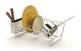 RSVP InSink Stainless Steel Dish Drying Rack Everything Kitchens - Kitchen sink dish rack