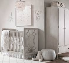Vintage White Baby Crib by A Soft Glamorous Nursery For A Baby Soho Nursery And Babies