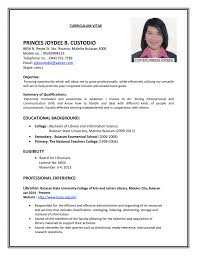 Example Of Resume No Experience by What To Put On A Resume For College Best Free Resume Collection