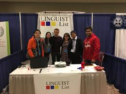 The LINGUIST List Team at the LSA Annual Meeting      in Austin  Texas